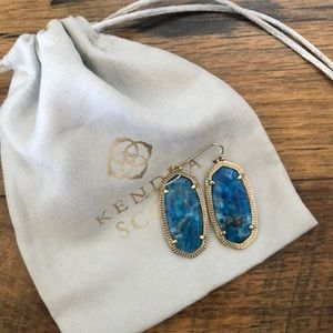 Blue/Turquoise Kendra Scott Earrings